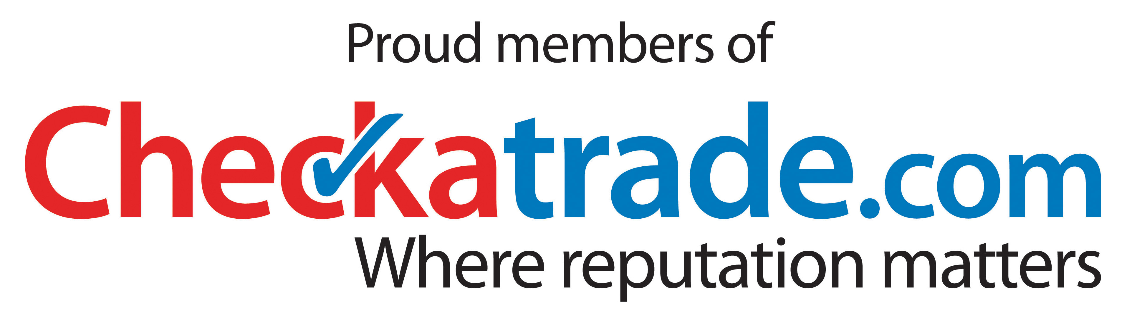 Proud member of Checkatrade.com