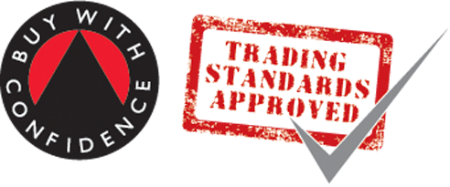 Vetted and approved by Trading Standards